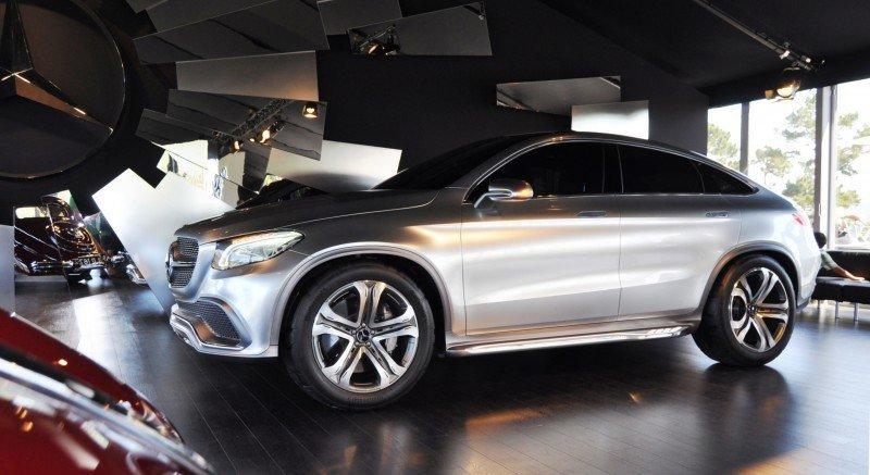 Car-Revs-Daily.com USA Debut in 80 New Photos - 2014 Mercedes-Benz Concept Coupé SUV  21
