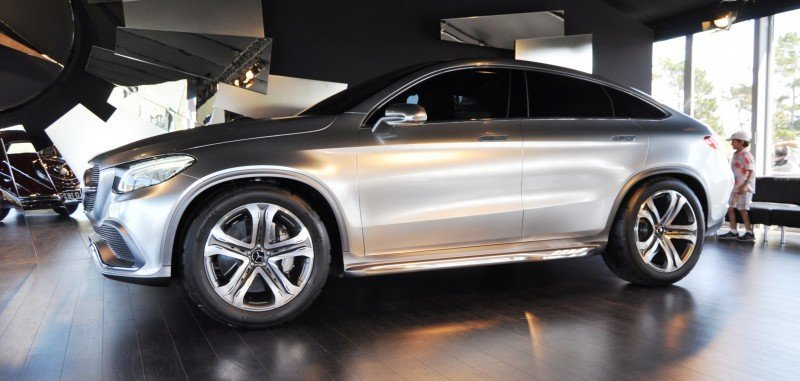 Car-Revs-Daily.com USA Debut in 80 New Photos - 2014 Mercedes-Benz Concept Coupé SUV 23