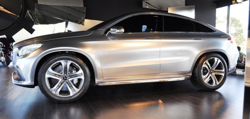 Car-Revs-Daily.com USA Debut in 80 New Photos - 2014 Mercedes-Benz Concept Coupé SUV 25