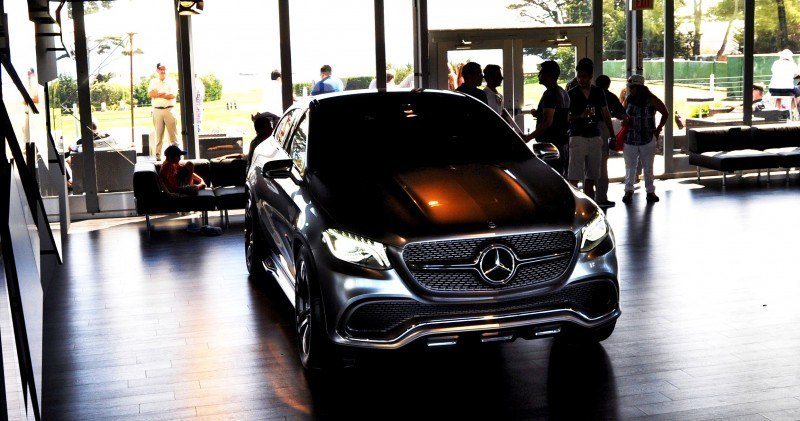 Car-Revs-Daily.com USA Debut in 80 New Photos - 2014 Mercedes-Benz Concept Coupé SUV 26