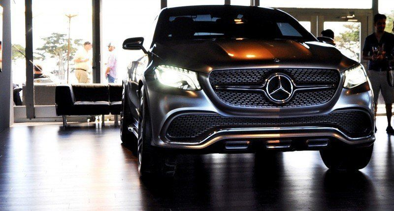 Car-Revs-Daily.com USA Debut in 80 New Photos - 2014 Mercedes-Benz Concept Coupé SUV 3
