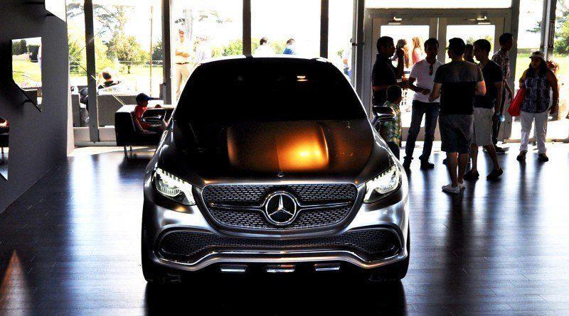 Car-Revs-Daily.com USA Debut in 80 New Photos - 2014 Mercedes-Benz Concept Coupé SUV  31