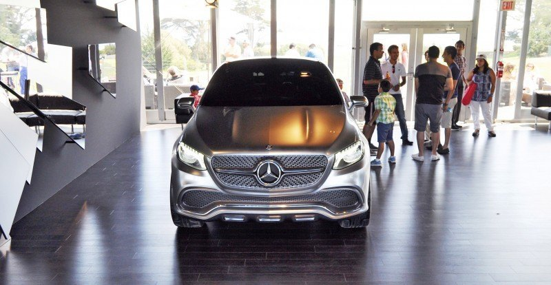 Car-Revs-Daily.com USA Debut in 80 New Photos - 2014 Mercedes-Benz Concept Coupé SUV 32