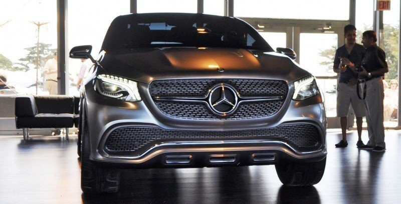 Car-Revs-Daily.com USA Debut in 80 New Photos - 2014 Mercedes-Benz Concept Coupé SUV 4