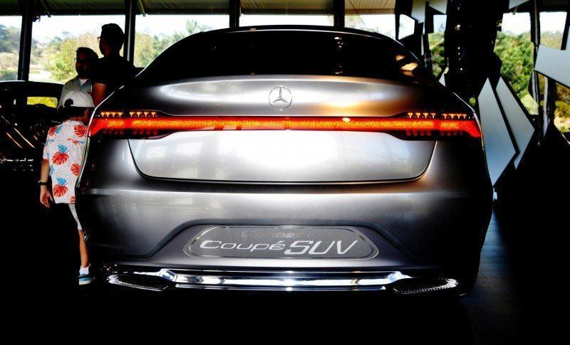 Car-Revs-Daily.com USA Debut in 80 New Photos - 2014 Mercedes-Benz Concept Coupé SUV 40