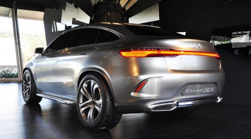 Car-Revs-Daily.com USA Debut in 80 New Photos - 2014 Mercedes-Benz Concept Coupé SUV 41