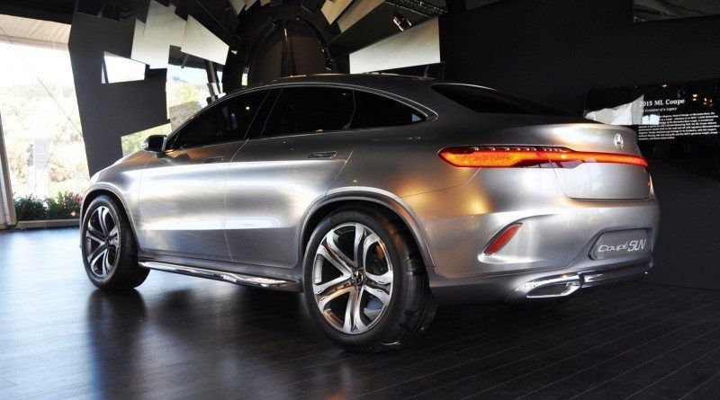 Car-Revs-Daily.com USA Debut in 80 New Photos - 2014 Mercedes-Benz Concept Coupé SUV 42
