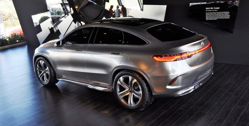 Car-Revs-Daily.com USA Debut in 80 New Photos - 2014 Mercedes-Benz Concept Coupé SUV 43
