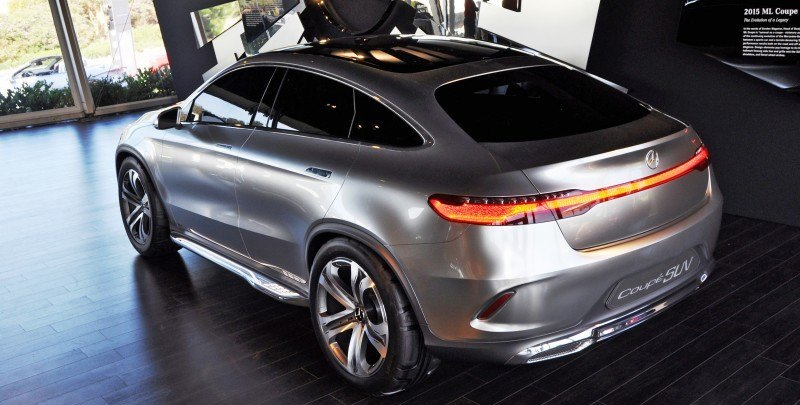 Car-Revs-Daily.com USA Debut in 80 New Photos - 2014 Mercedes-Benz Concept Coupé SUV 45
