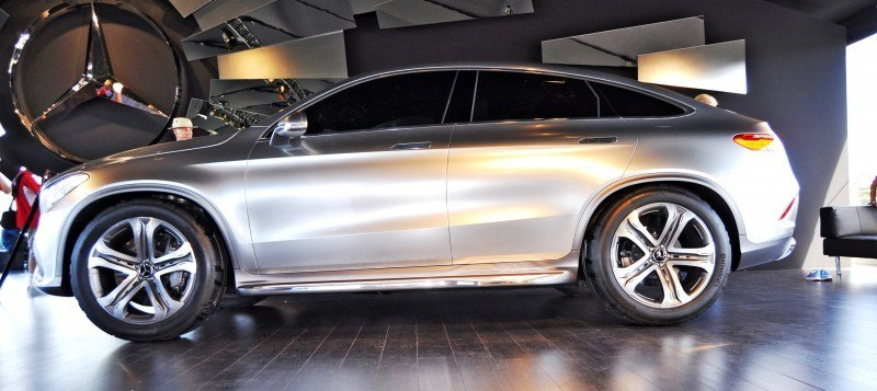 Car-Revs-Daily.com USA Debut in 80 New Photos - 2014 Mercedes-Benz Concept Coupé SUV 46