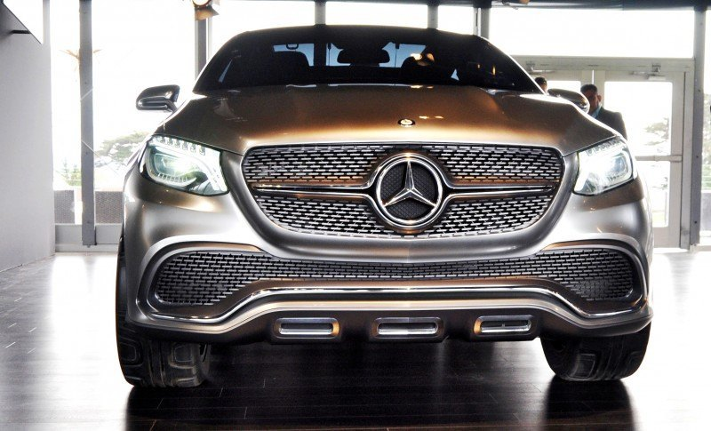 Car-Revs-Daily.com USA Debut in 80 New Photos - 2014 Mercedes-Benz Concept Coupé SUV  48