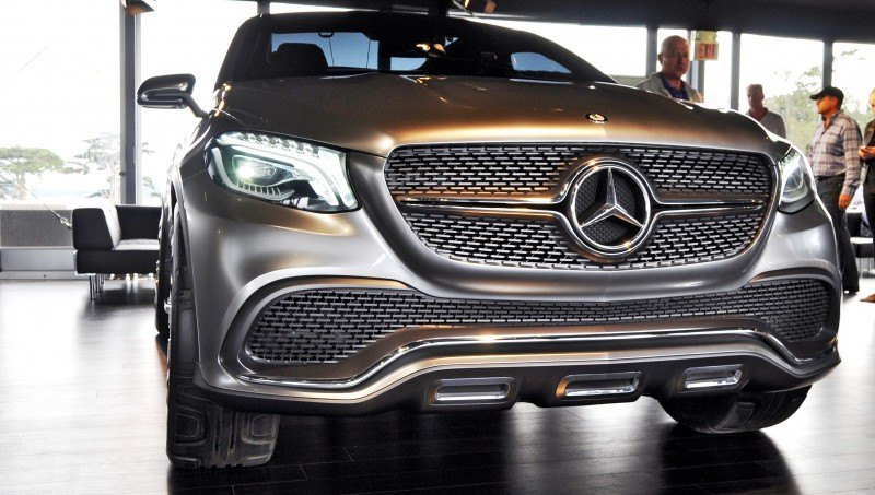 Car-Revs-Daily.com USA Debut in 80 New Photos - 2014 Mercedes-Benz Concept Coupé SUV 49
