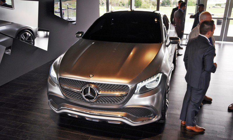 Car-Revs-Daily.com USA Debut in 80 New Photos - 2014 Mercedes-Benz Concept Coupé SUV 61