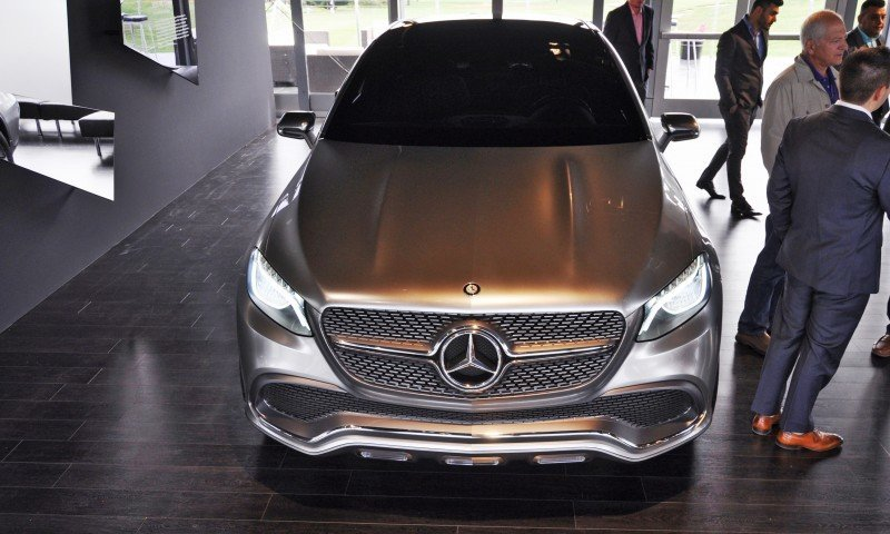 Car-Revs-Daily.com USA Debut in 80 New Photos - 2014 Mercedes-Benz Concept Coupé SUV 62