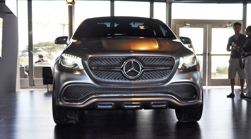 Car-Revs-Daily.com USA Debut in 80 New Photos - 2014 Mercedes-Benz Concept Coupé SUV 7