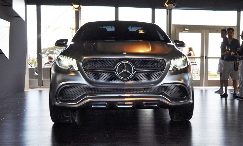 Car-Revs-Daily.com USA Debut in 80 New Photos - 2014 Mercedes-Benz Concept Coupé SUV 8