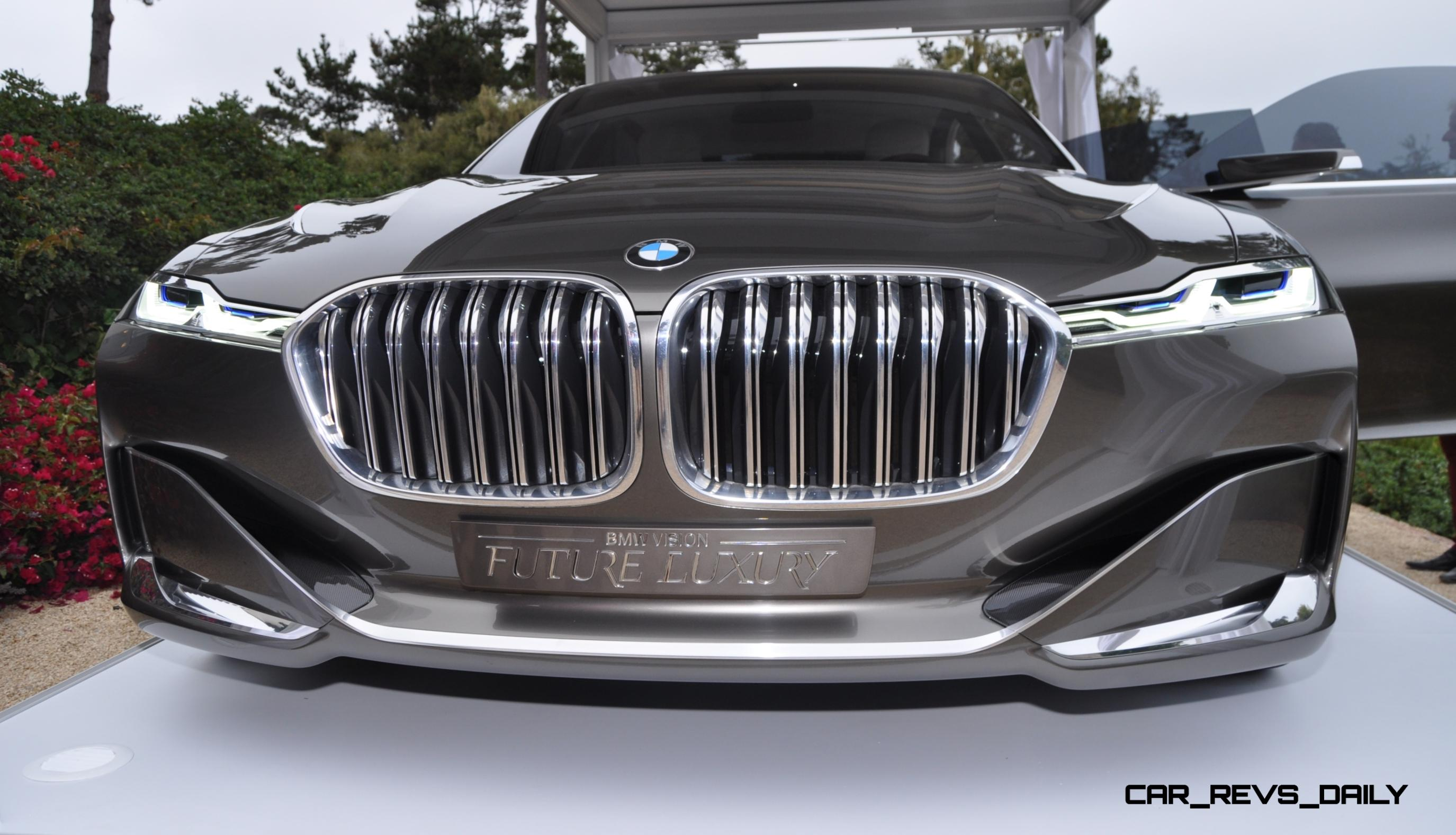 Updated Usa Debut 2014 Bmw Vision Future Luxury Concept Design