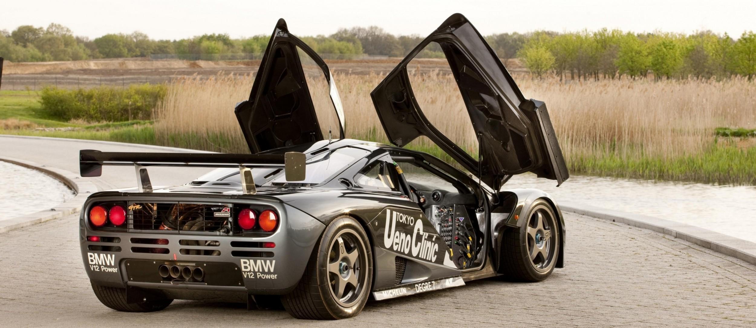carrevsdaily - supercar legends - mclaren f1 wallpaper 23
