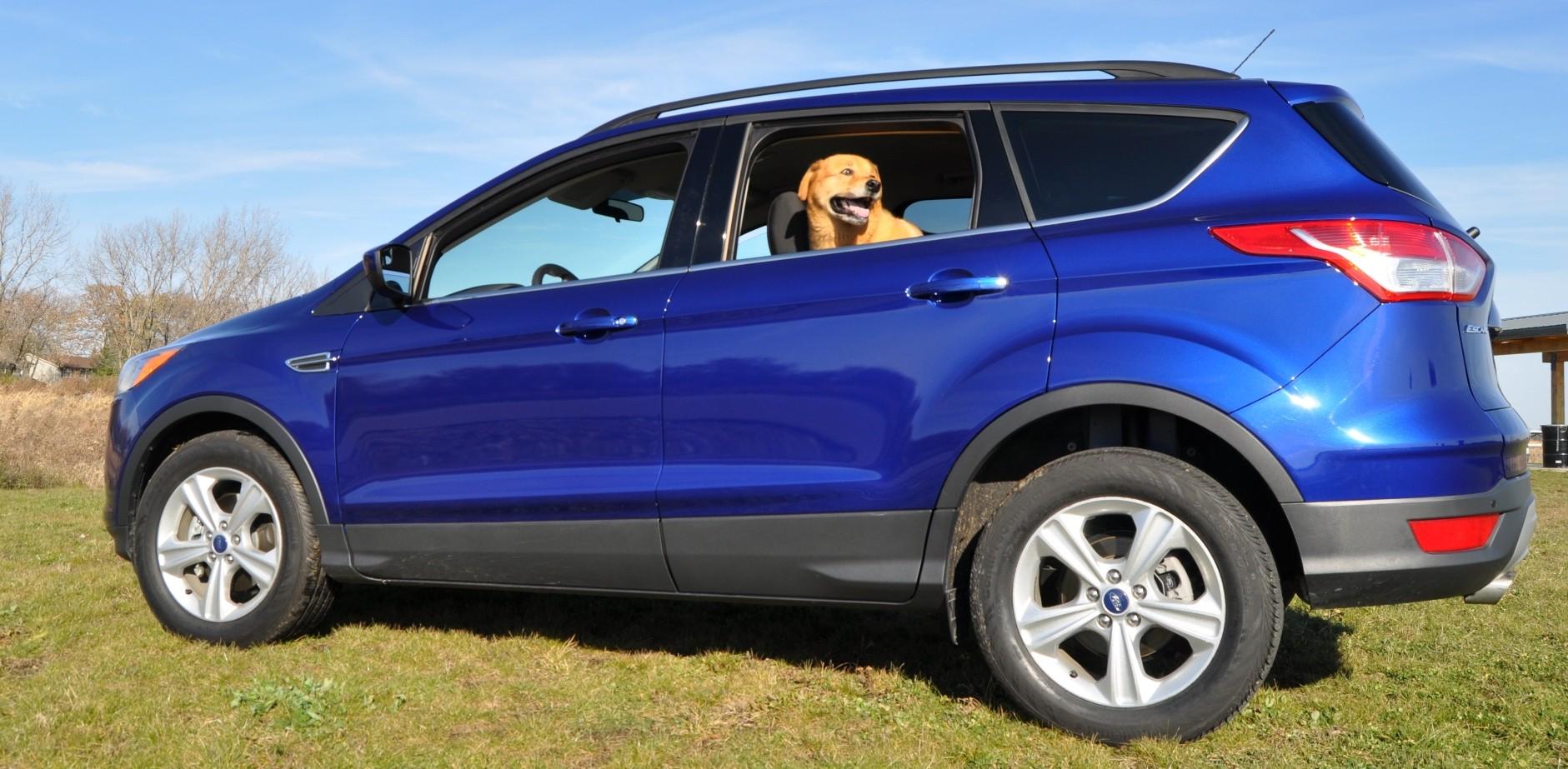 road test review 2014 ford escape se 1 6 ecoboost. Black Bedroom Furniture Sets. Home Design Ideas