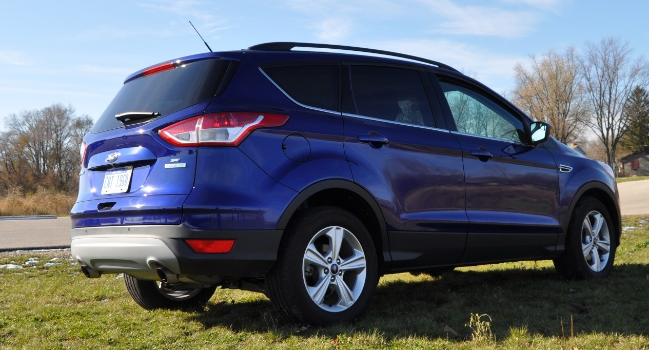 CarRevsDaily.com 2014 Ford Escape 1.6L EcoBoost in Deep Impact Blue68 2014 ford escape se on wiring diagram ford everest