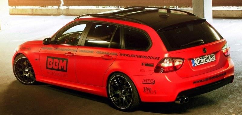CarRevsDaily.com - BBM BMW 330 Dynojet Ausdruck 2