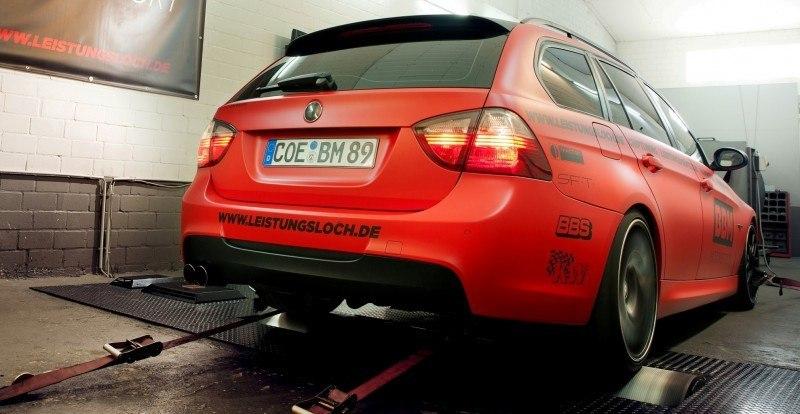 CarRevsDaily.com - BBM BMW 330 Dynojet Ausdruck 4
