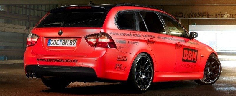 CarRevsDaily.com - BBM BMW 330 Dynojet Ausdruck 5