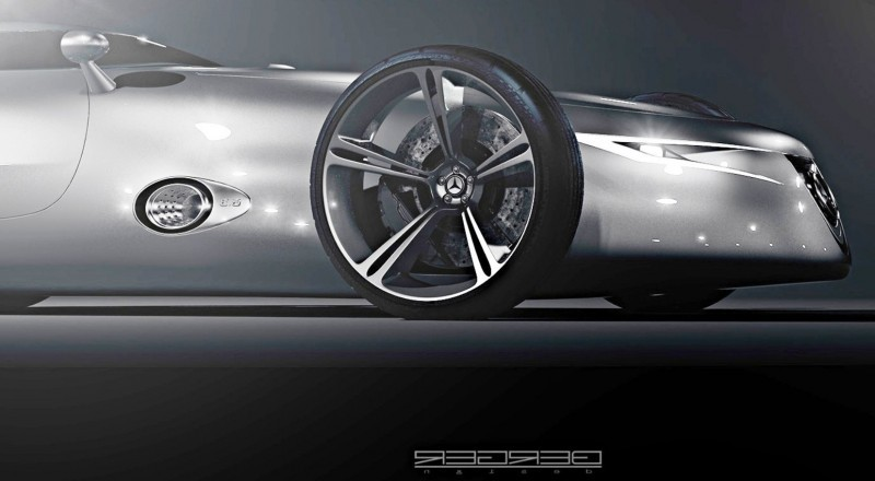 CarRevsDaily.com - Phil Berger Envisions Future Silver Arrow Racer 5