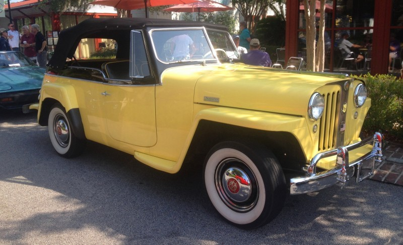 Cars & Coffee - 1949 Willys Overland Jeepster is Rare, Immaculate Example of First-Ever Crossover SUV 12