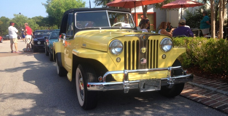 Cars & Coffee - 1949 Willys Overland Jeepster is Rare, Immaculate Example of First-Ever Crossover SUV 13