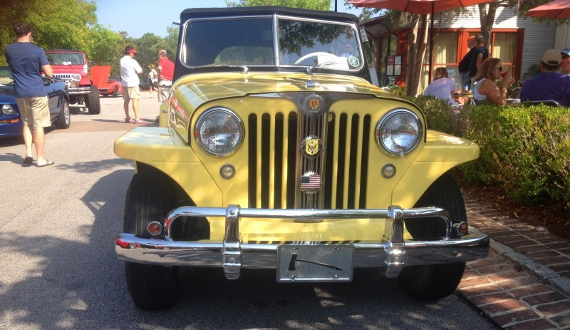 Cars & Coffee - 1949 Willys Overland Jeepster is Rare, Immaculate Example of First-Ever Crossover SUV 14