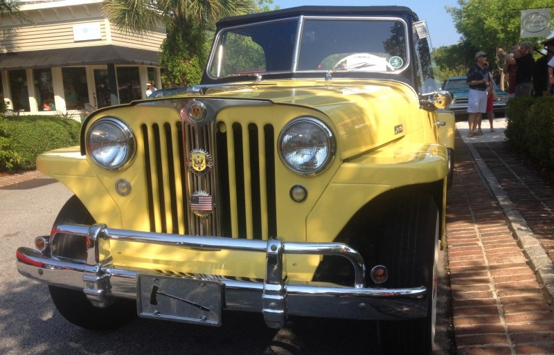 Cars & Coffee - 1949 Willys Overland Jeepster is Rare, Immaculate Example of First-Ever Crossover SUV 16
