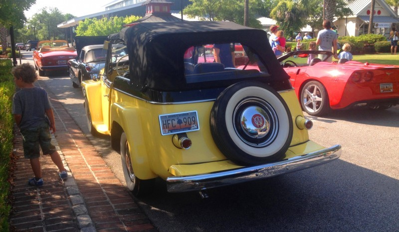 Cars & Coffee - 1949 Willys Overland Jeepster is Rare, Immaculate Example of First-Ever Crossover SUV 3