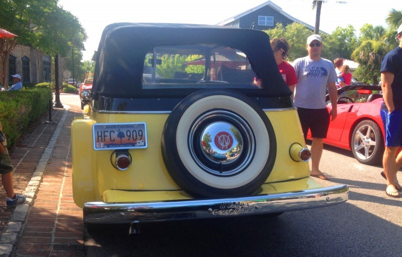 Cars & Coffee - 1949 Willys Overland Jeepster is Rare, Immaculate Example of First-Ever Crossover SUV 4