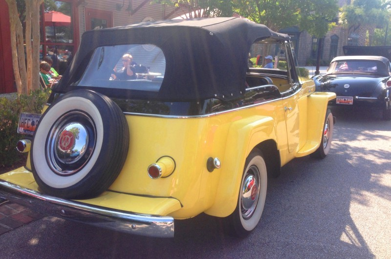 Cars & Coffee - 1949 Willys Overland Jeepster is Rare, Immaculate Example of First-Ever Crossover SUV 6