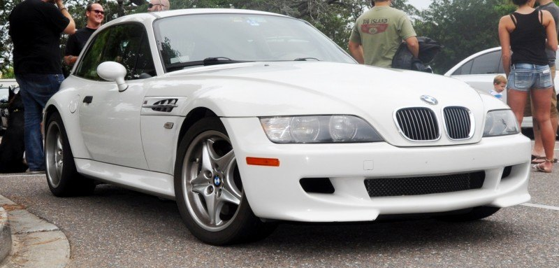 Charleston Cars & Coffee Gallery - 1999 BMW M Coupe - Vunder-BreadVan in White 1