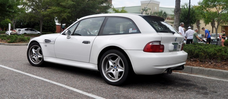 Charleston Cars & Coffee Gallery - 1999 BMW M Coupe - Vunder-BreadVan in White 12