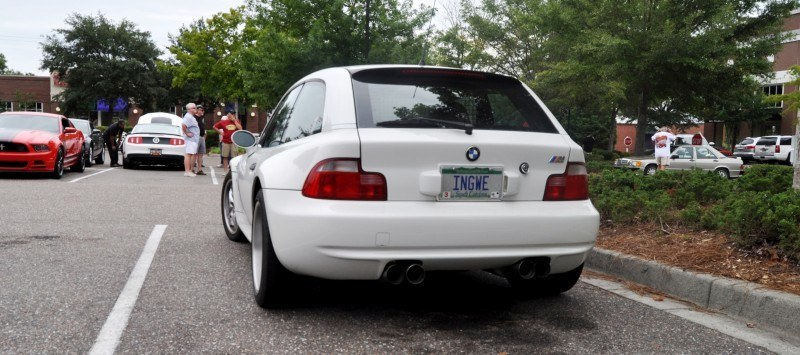 Charleston Cars & Coffee Gallery - 1999 BMW M Coupe - Vunder-BreadVan in White 14