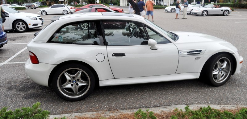 Charleston Cars & Coffee Gallery - 1999 BMW M Coupe - Vunder-BreadVan in White 20