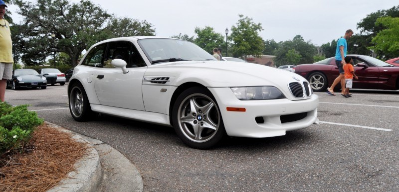 Charleston Cars & Coffee Gallery - 1999 BMW M Coupe - Vunder-BreadVan in White 23