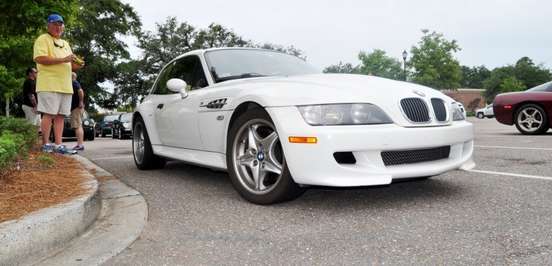 Charleston Cars & Coffee Gallery - 1999 BMW M Coupe - Vunder-BreadVan in White 24