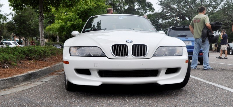 Charleston Cars & Coffee Gallery - 1999 BMW M Coupe - Vunder-BreadVan in White 3