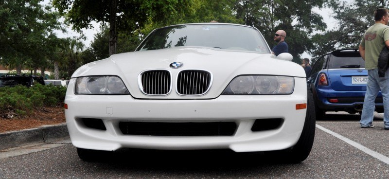 Charleston Cars & Coffee Gallery - 1999 BMW M Coupe - Vunder-BreadVan in White 4