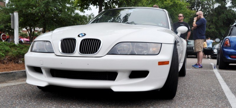 Charleston Cars & Coffee Gallery - 1999 BMW M Coupe - Vunder-BreadVan in White 5