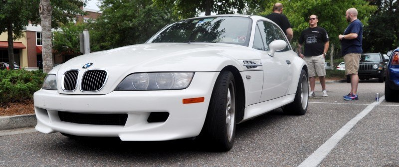 Charleston Cars & Coffee Gallery - 1999 BMW M Coupe - Vunder-BreadVan in White 6