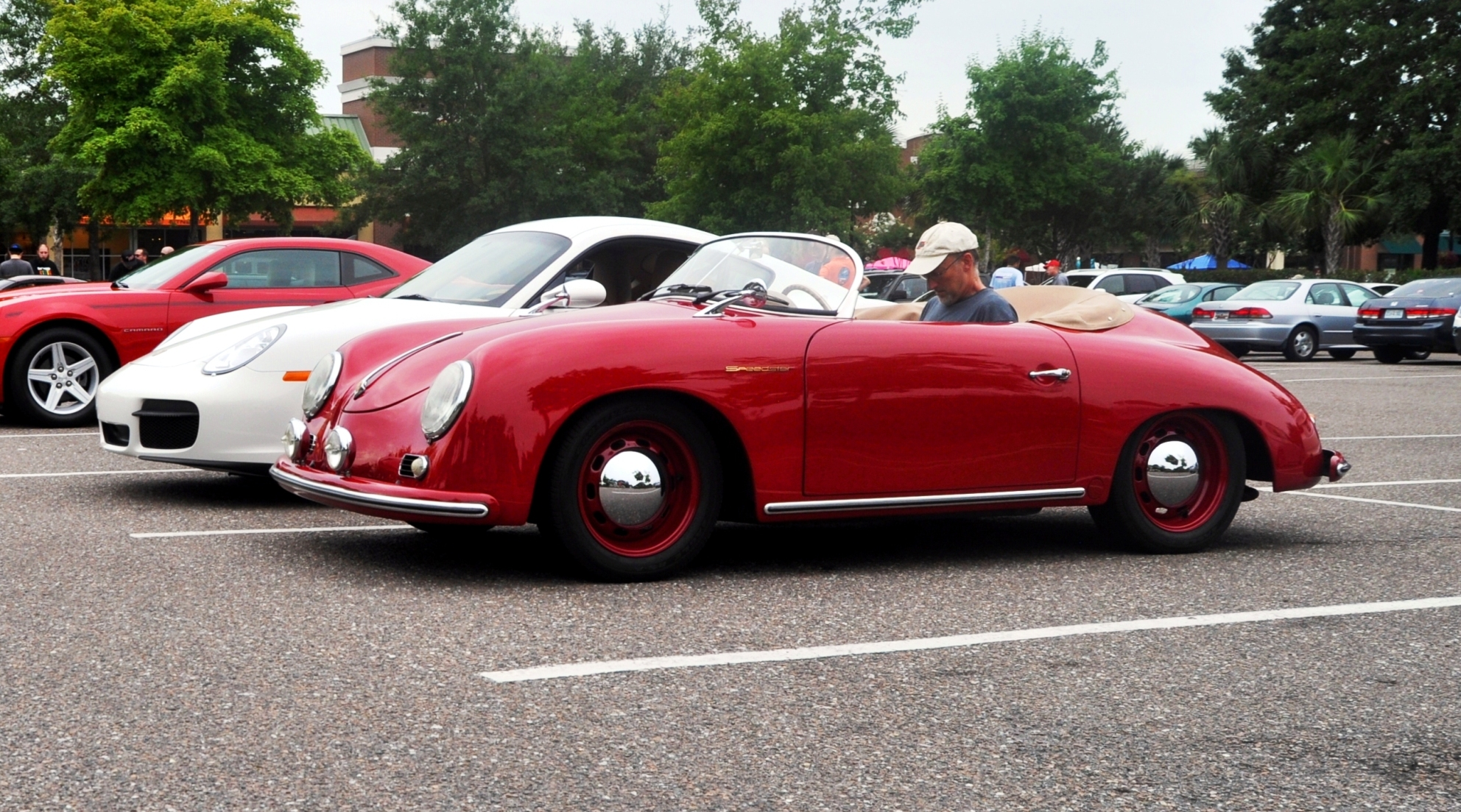 Charleston Cars and Coffee - 1955 Porsche 356 1500S Sdster