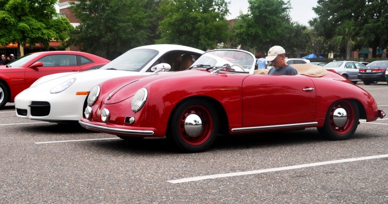 Charleston Cars and Coffee - 1955 Porsche 356 1500S Speedster 12