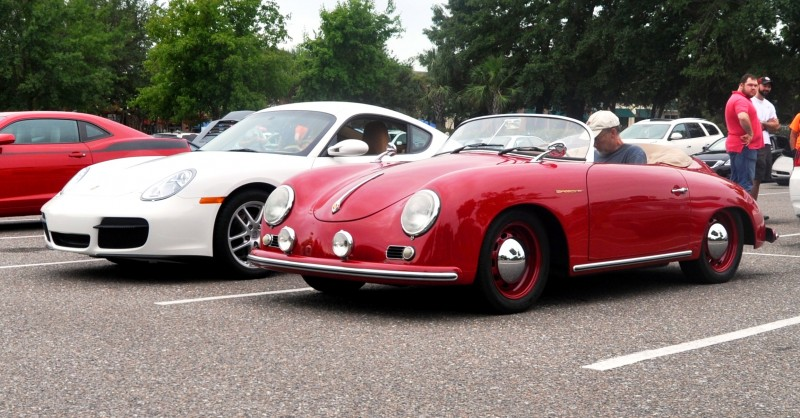 Charleston Cars and Coffee - 1955 Porsche 356 1500S Speedster 15