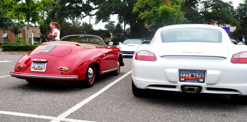 Charleston Cars and Coffee - 1955 Porsche 356 1500S Speedster 2