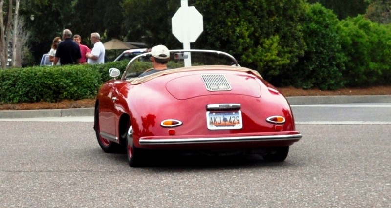 Charleston Cars and Coffee - 1955 Porsche 356 1500S Speedster 22